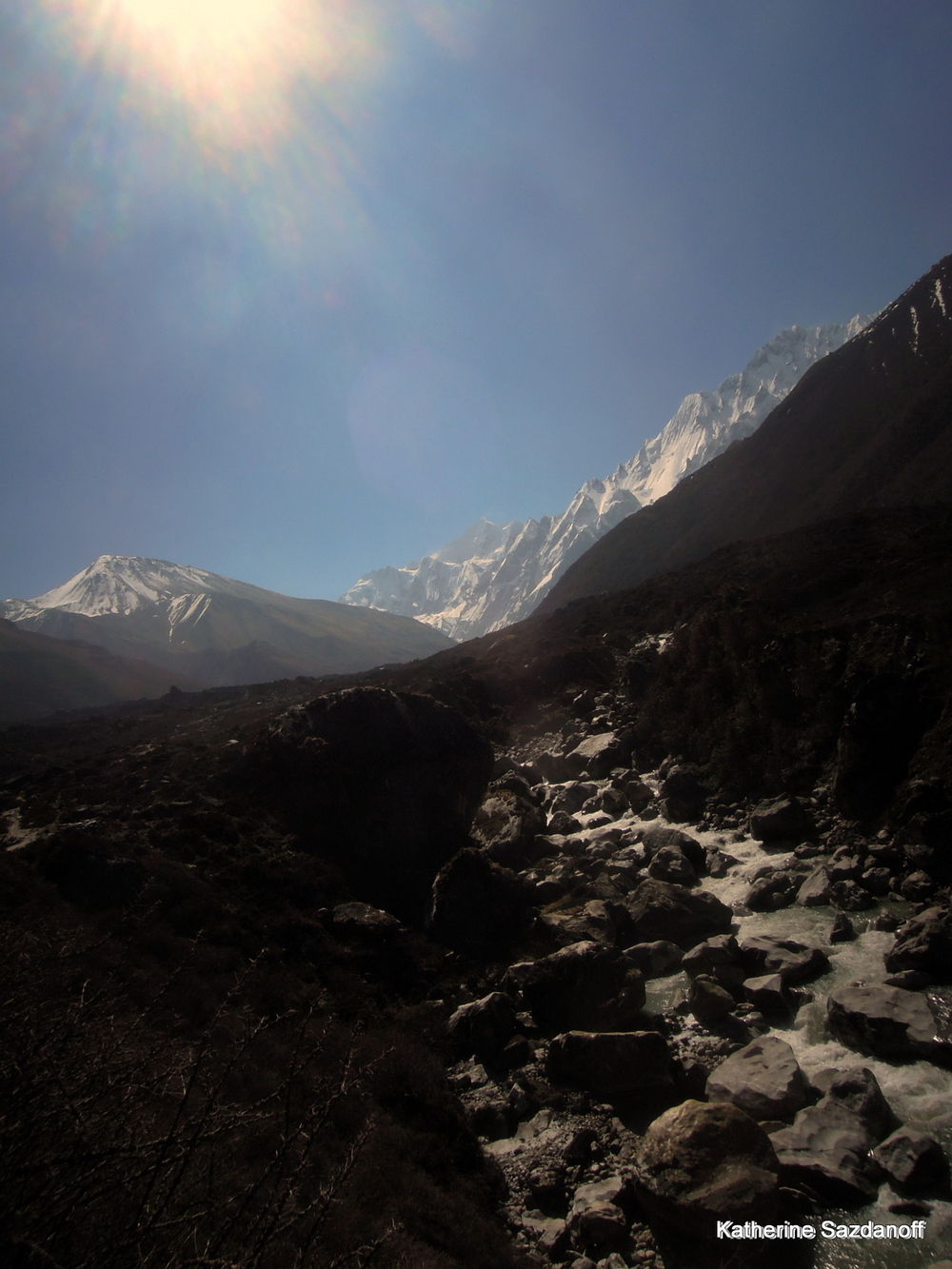 Himalayan trek in Langtang Valley, Nepal