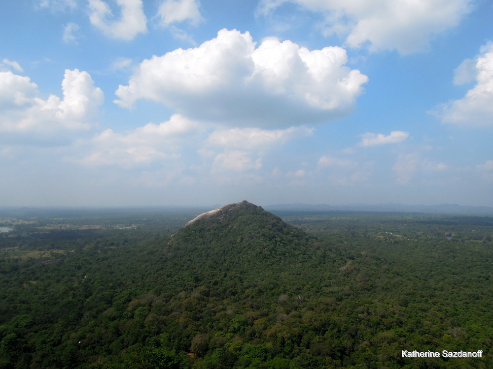 View from  Sigiriya, Sri Lanka