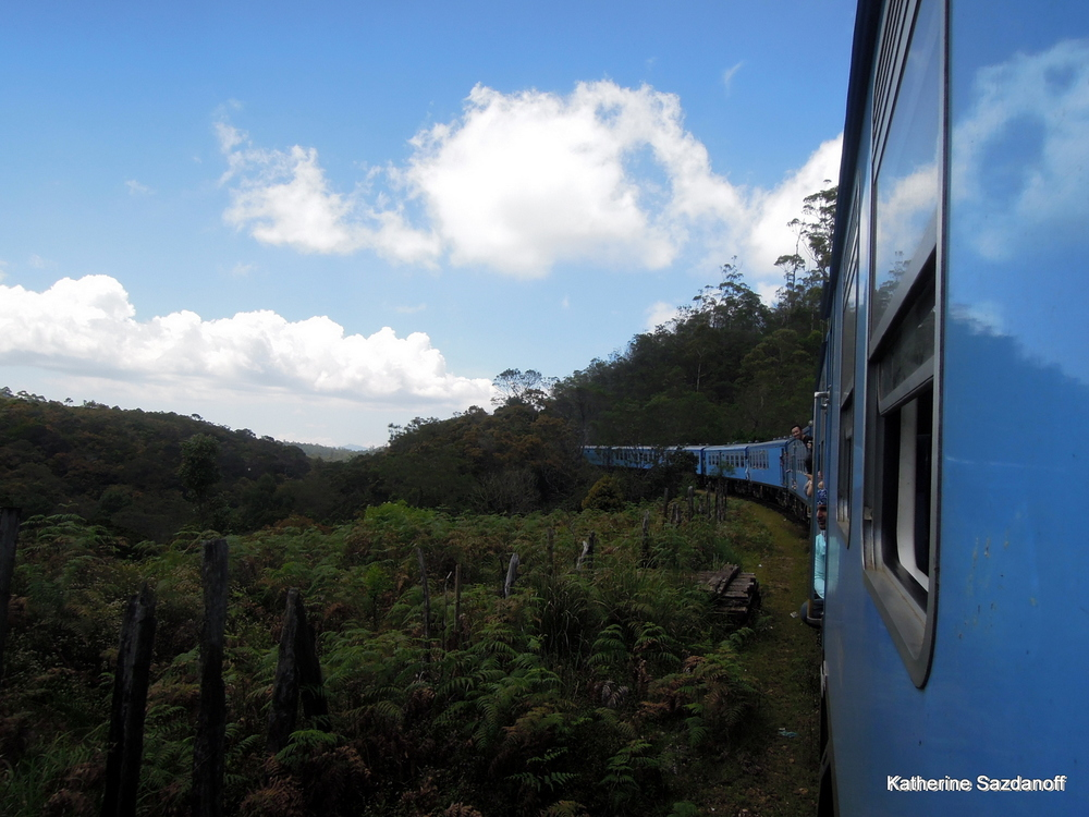 Train ride to Ella, Sri Lanka