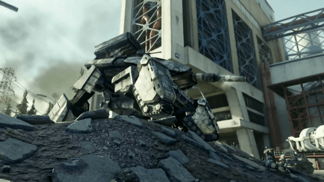 call of duty - advanced warfare - robot