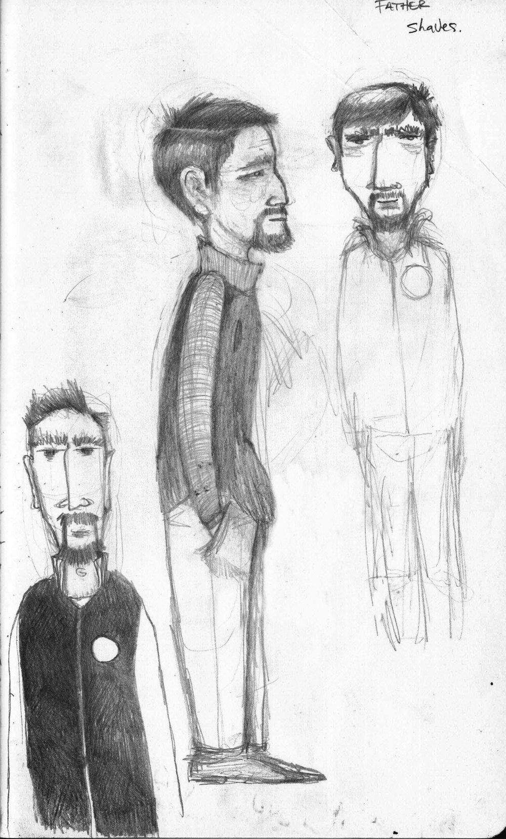 Hector Sketches