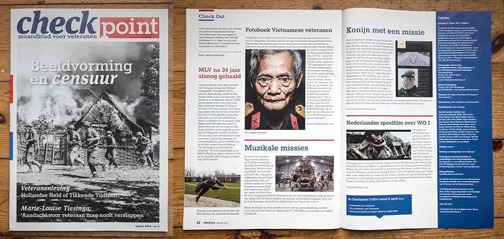 Veteranen magazine - Checkpoint