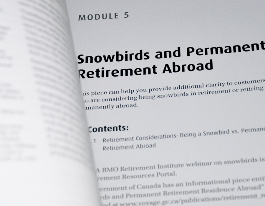 Where can you find BMO retirement login info?