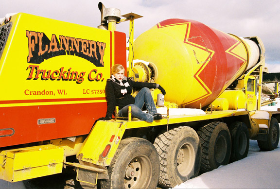 So yeah, there once was an actual Mel Flannery Trucking Co.