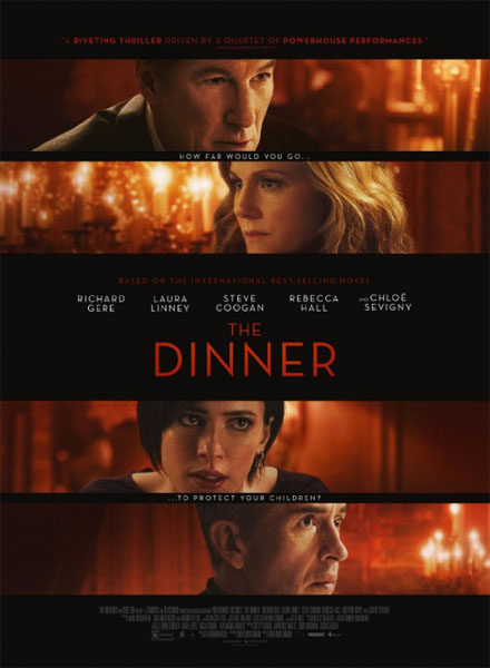 The Dinner movie 2017