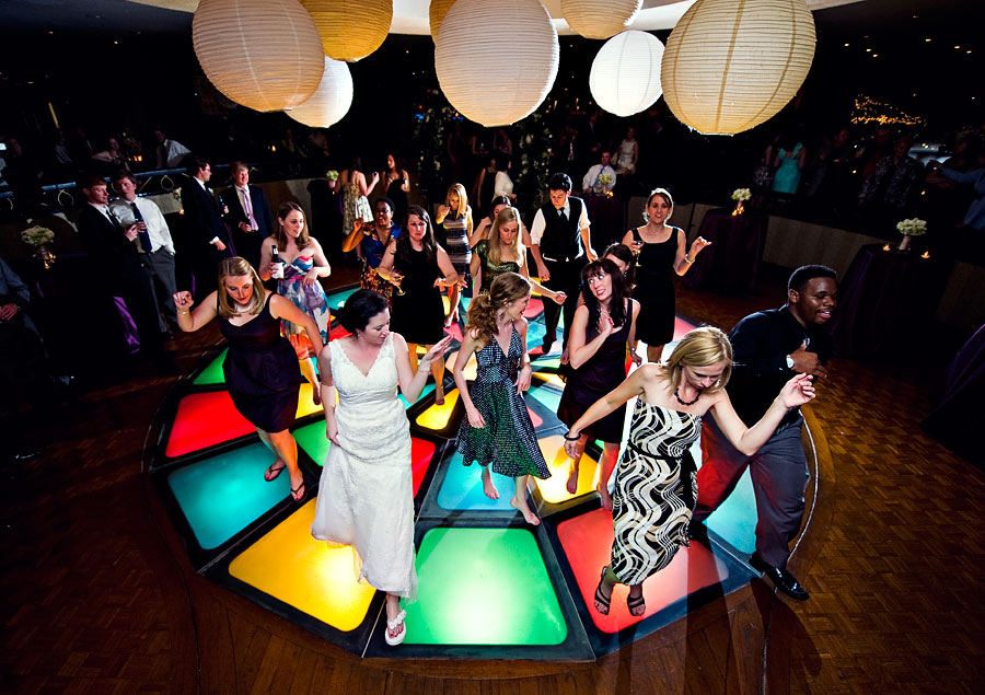 A colorful reception. // Amelia Strauss Photography