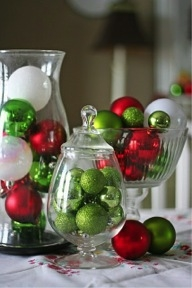 A simple centerpiece. // Pinterest