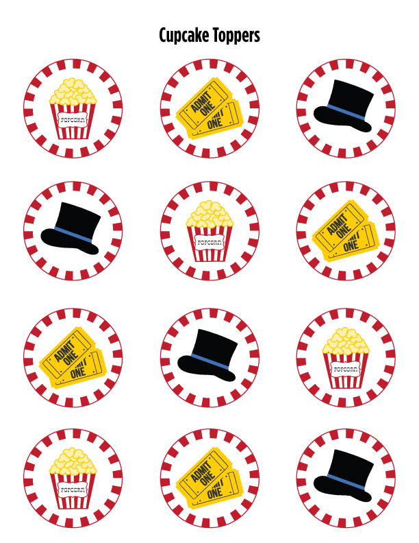 More Free Circus Themed Birthday Party Printables | MCL Catering