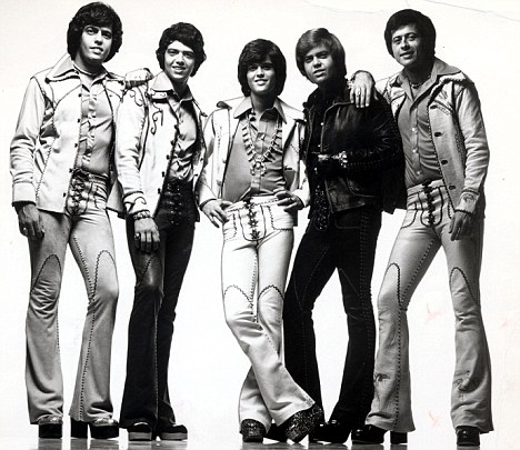 All the Osmonds in Char on European Tour