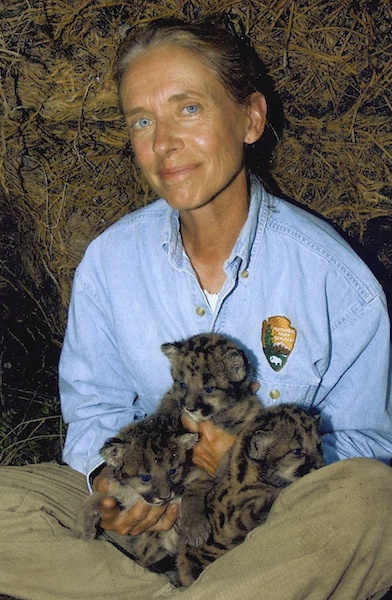Florida Panther Biologist Deb Jansen. Photo courtesy Deb Jansen.