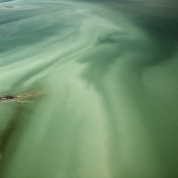 Florida Bay Aerial. ©Connie Bransilver