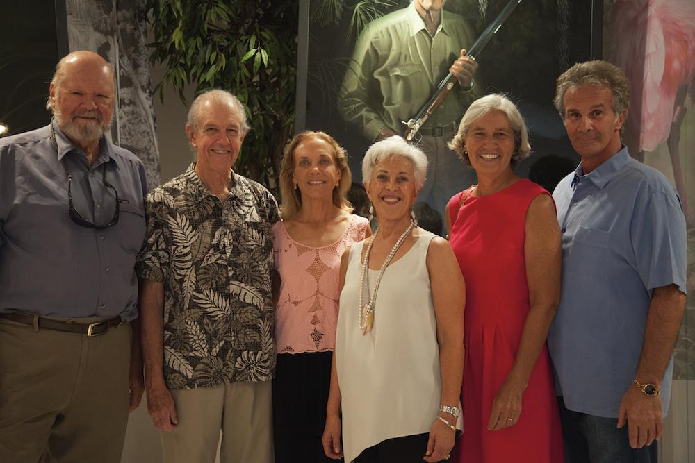 Guardians Ed Carlson, Franklin Adams, Deb Jansen, Connie, Guardian Dr. Hilary Swain, Nicholas. Photo Courtesy Madeline Scoular