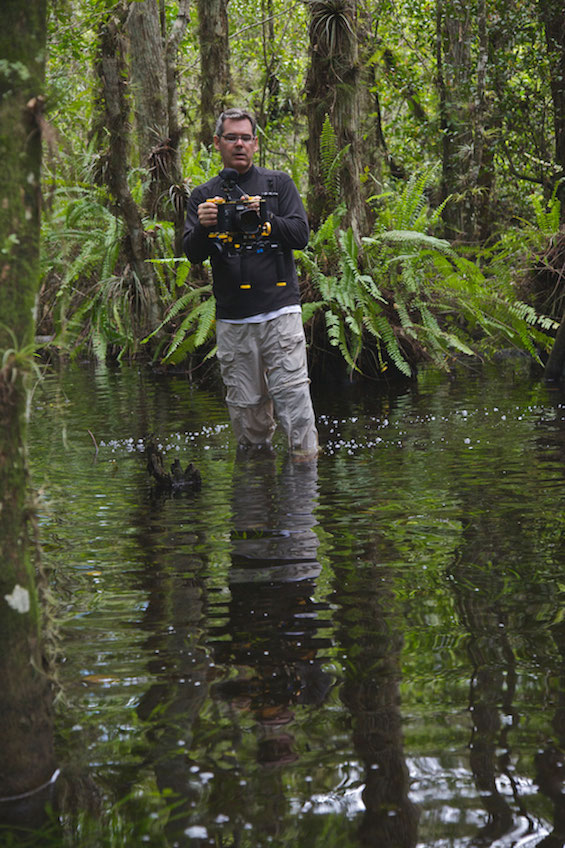 Guardians of the Everglades, filming the documentary ©Connie Bransilver