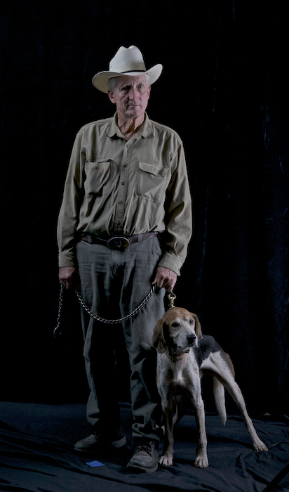 Guardian Roy McBride and Chili ©Connie Bransilver
