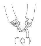 Chain and Padlock #5514