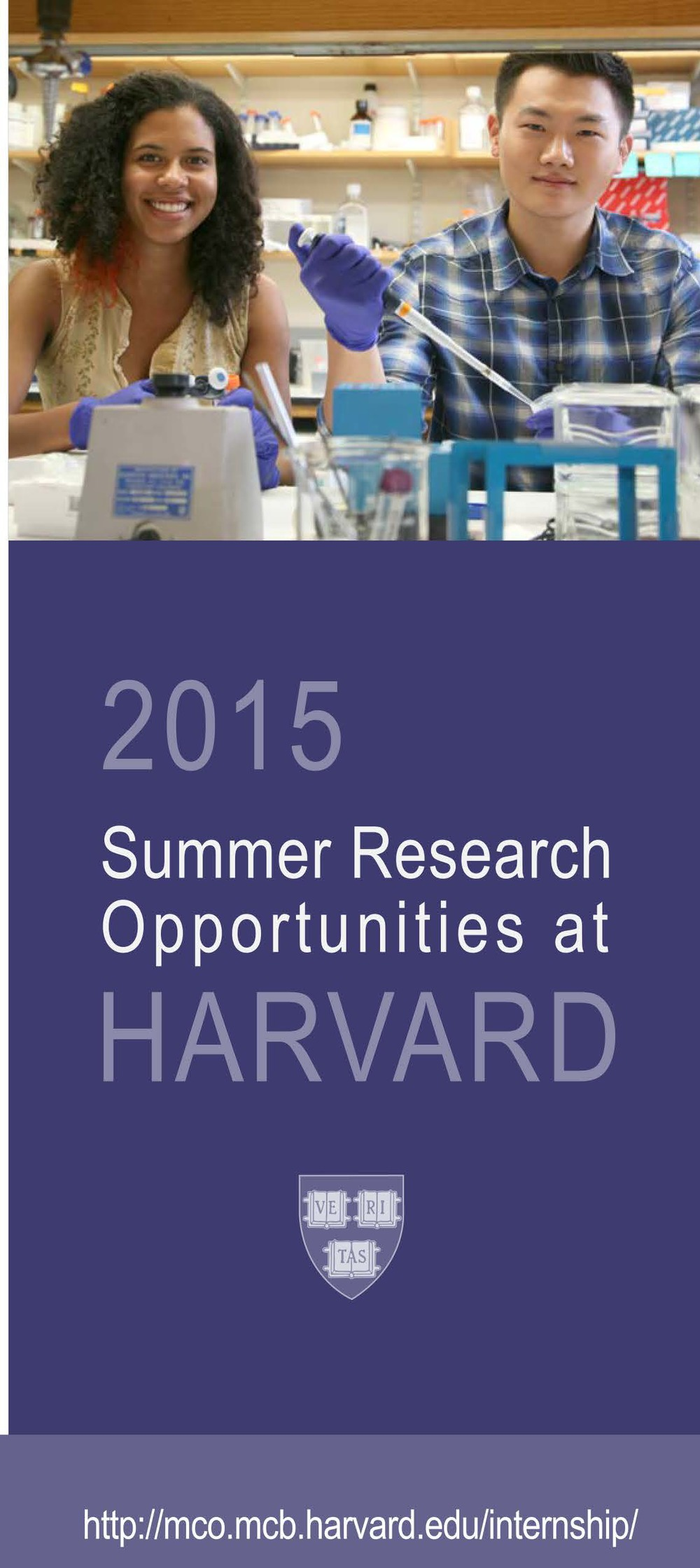 2015 Summer Research Opportunities at Harvard