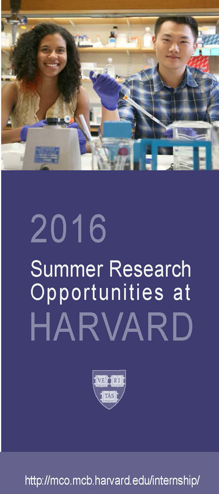 2016 Summer Research Opportunities at Harvard