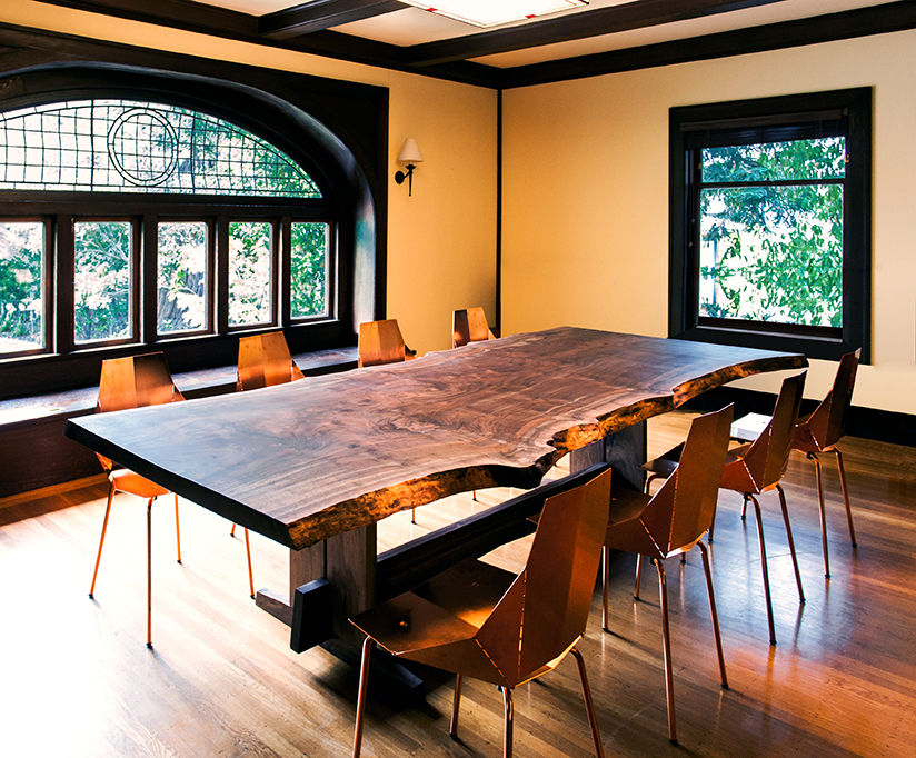 Live Edge Piedmont Dining Table Lands In San Francisco Taylor