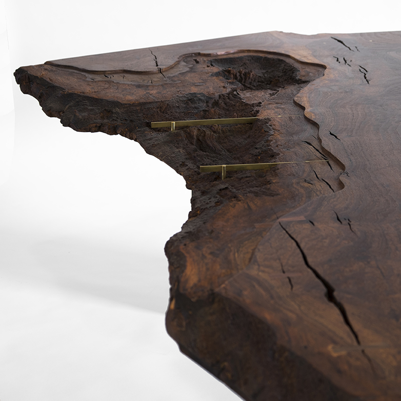 Our Clients, In Chicago, Catapulted Us Away From Our Comfort Zone By  Choosing A Slab With A Significantly Decayed Live Edge. We Had Total  Freedom To Design ...