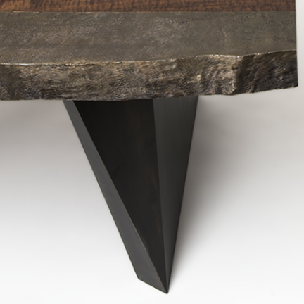 Bronze Cast Edge Desk