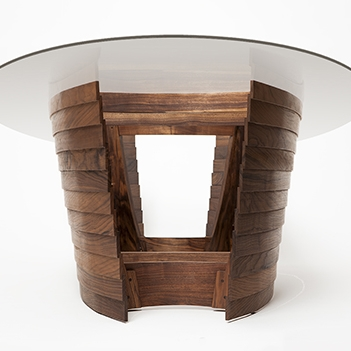 Glass Top Pangea Dining Table