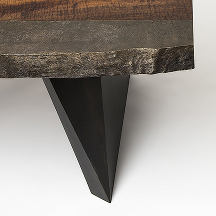 Cast Bronze Edge Desk