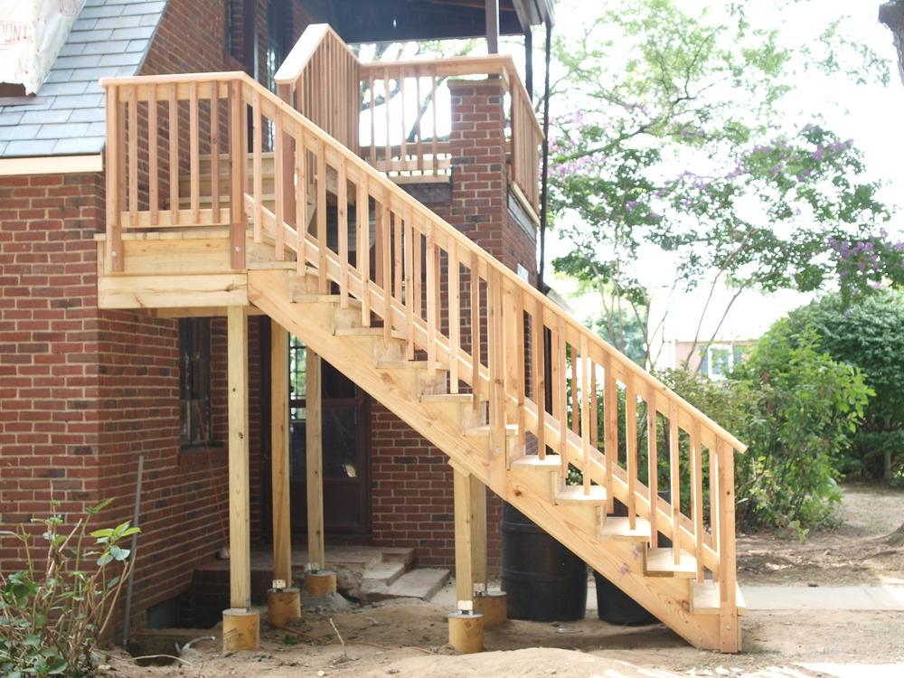 Custom stairway.
