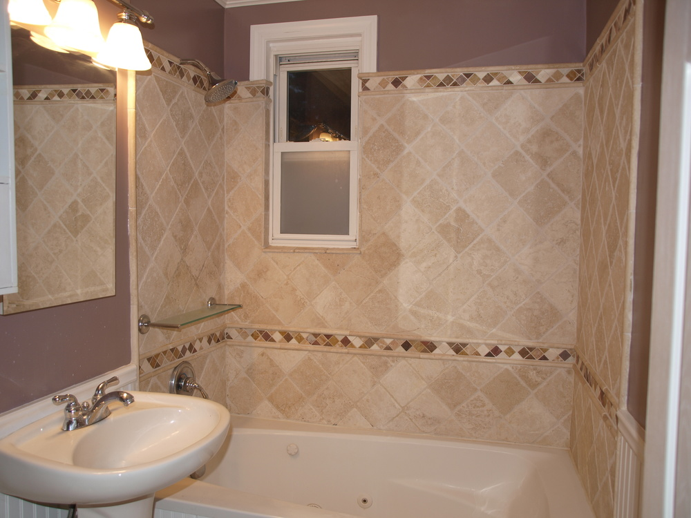 Custom bathroom.