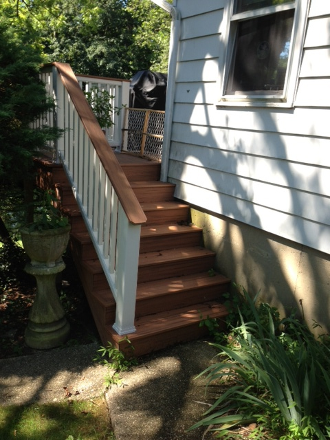 Custom staircase.