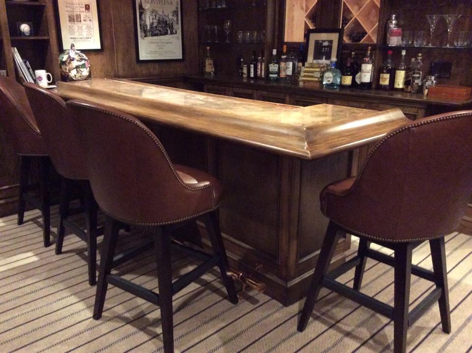 Finished bar.