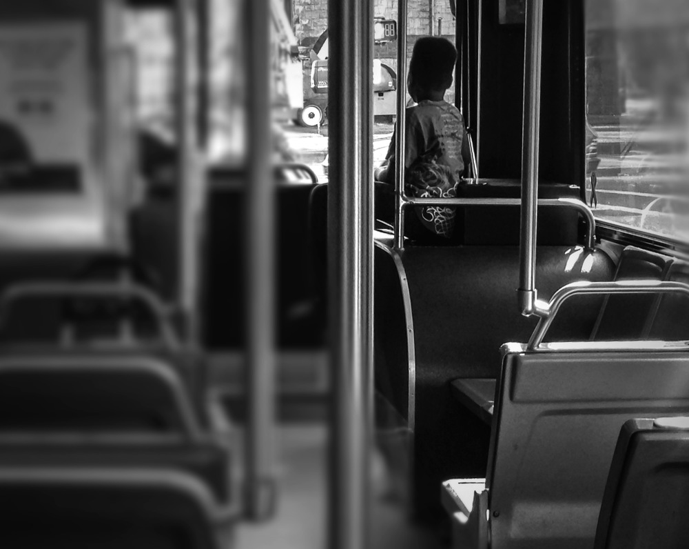 "© 2014 Sarahmica Photography - ""Strangers On Buses: Lone Child"""