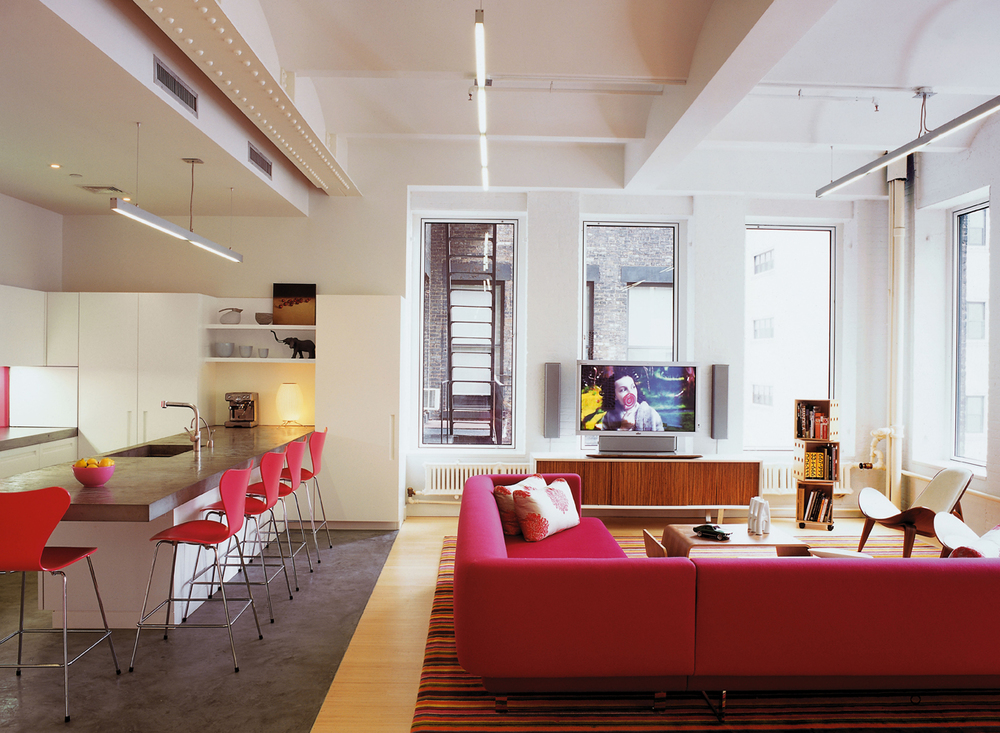 tribeca family loft ghislaine vi as interior design llc