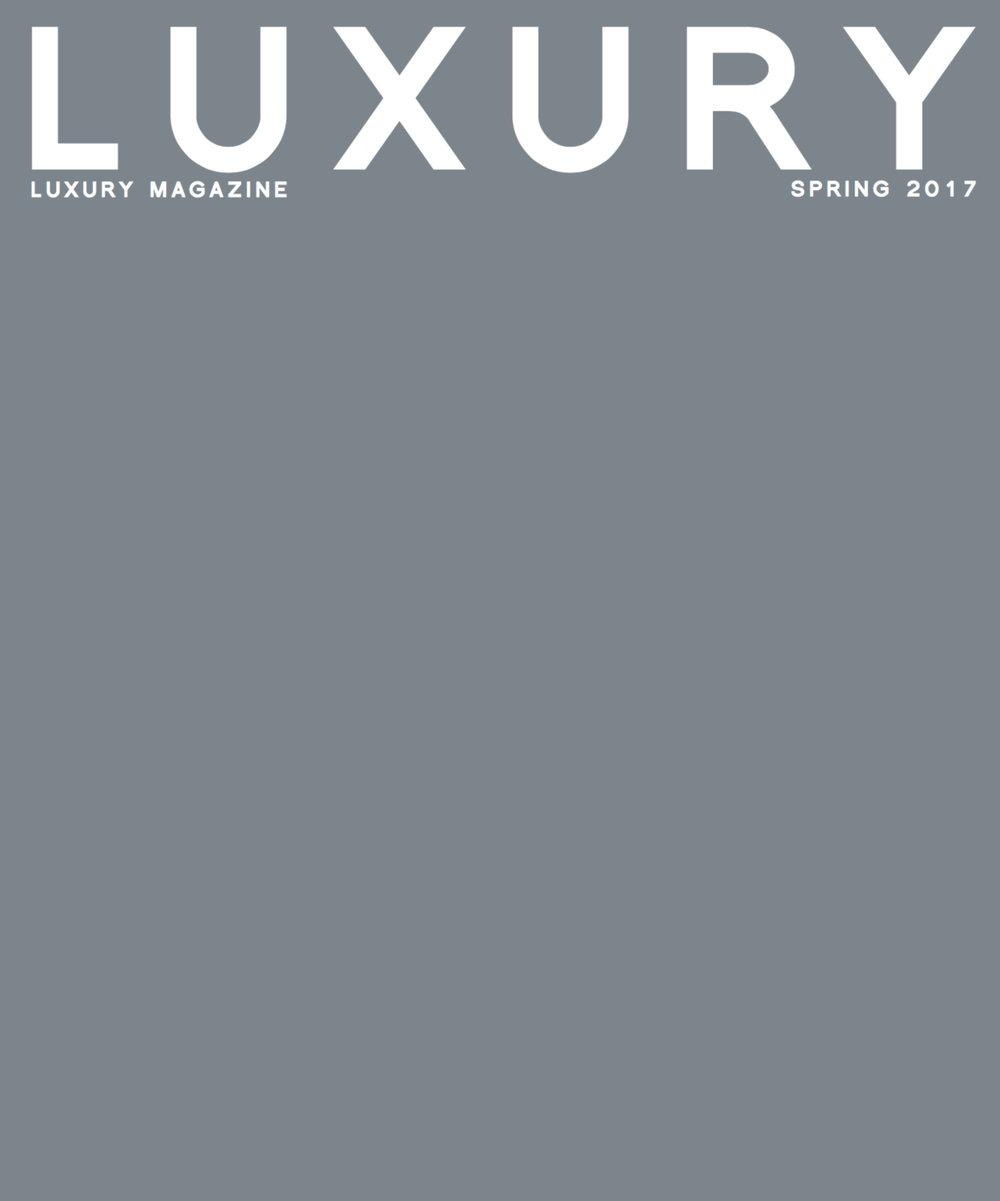 LUXURY MAGAZINE Spring 2017 by Black Card - cover.jpg