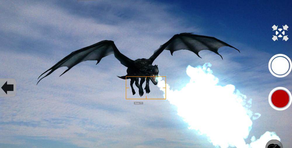 Fast flight flare