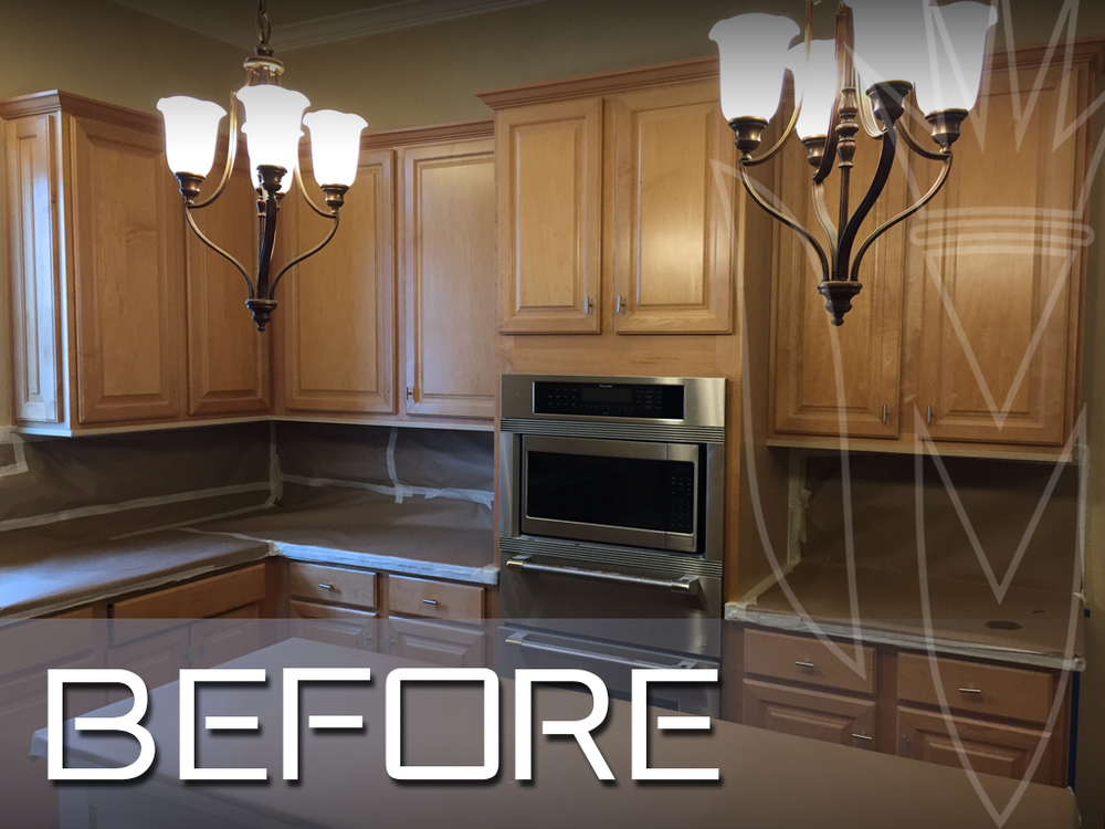Refinishing magnifico cabinet refinishing paint for How to paint white cabinets