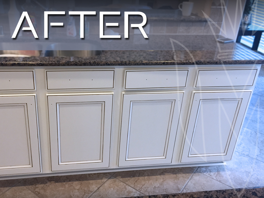 Refinishing Magnifico Cabinet Refinishing Paint Stain Glaze - Grey glazed cabinets