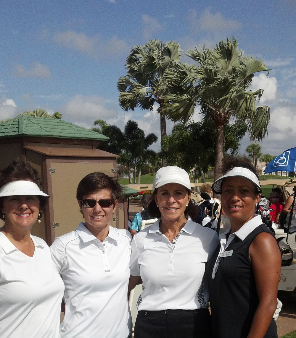 Linda Reeves, Pro – Andrea Drake, Connie Malenick, and Diana Riley