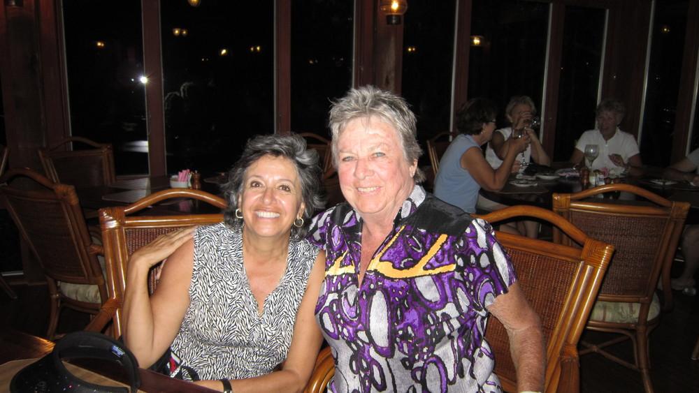 Joann Rose and Lorraine Houlahan