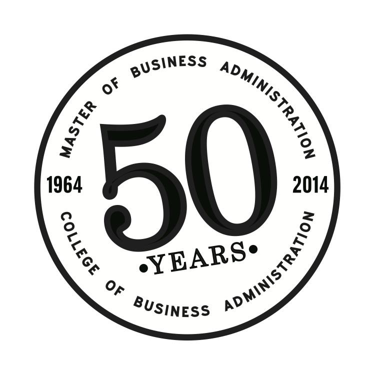 MBA 50th Anniversary logo