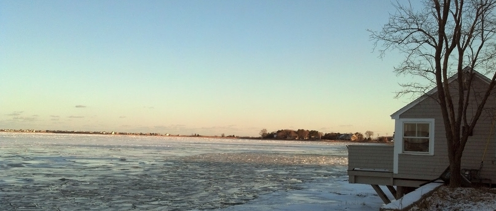 Joppa Flats and The Merrimack River, Massachusetts
