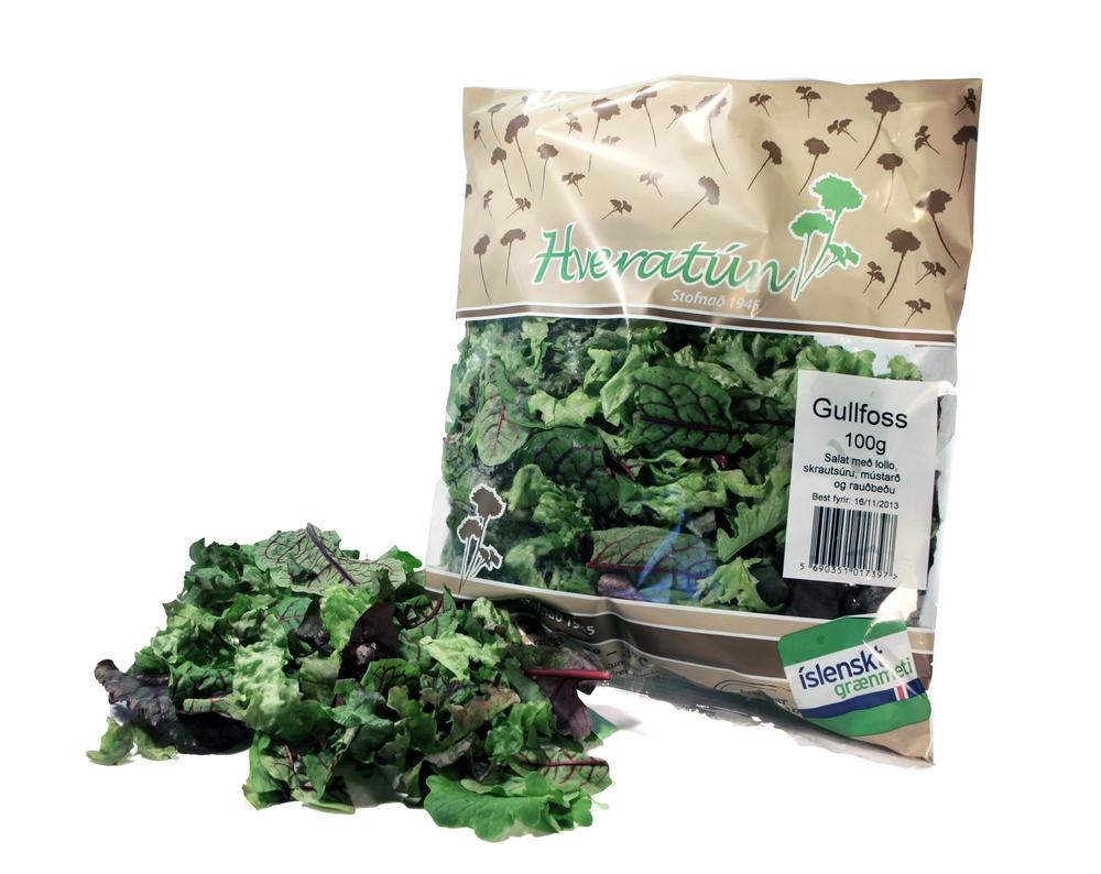 Salatblandan Gullfoss