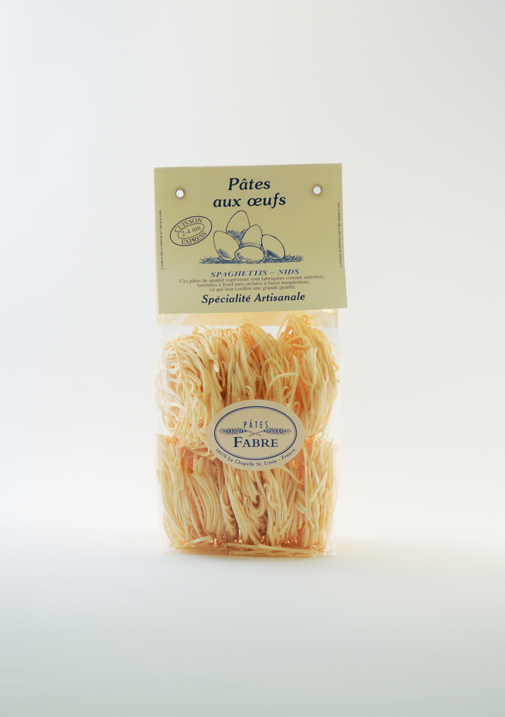 Spaghetti aux œufs