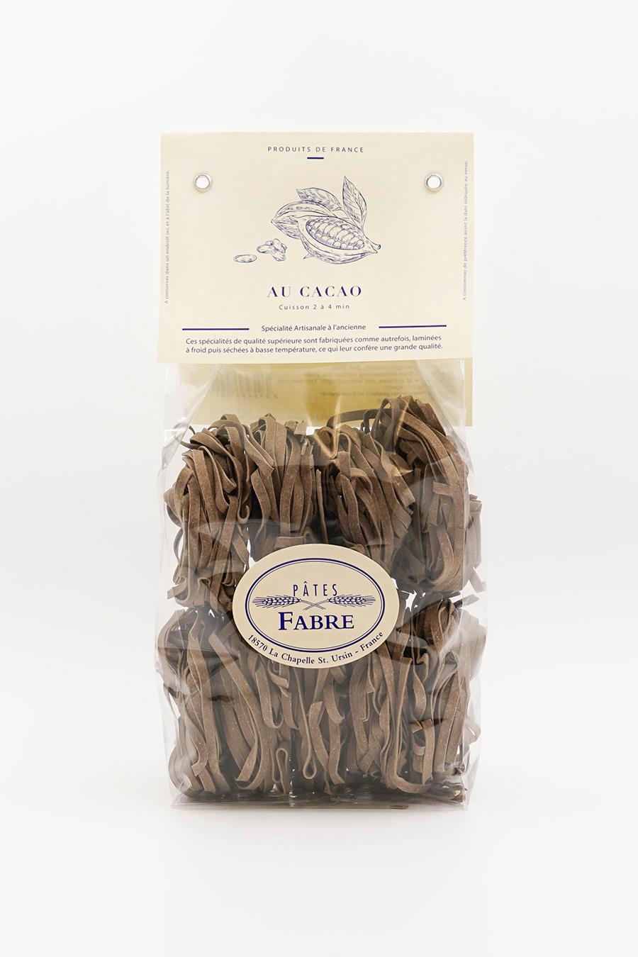 Tagliatelles au cacao