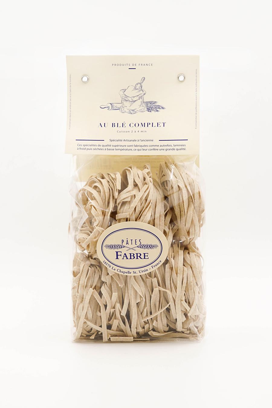 Tagliatelles au blé complet