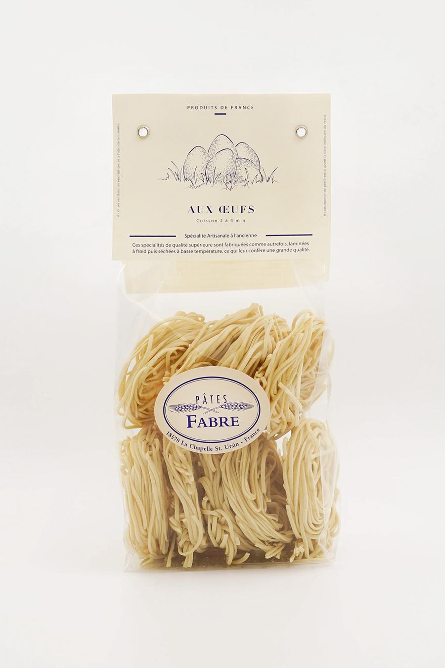 Spaghetti aux oeufs