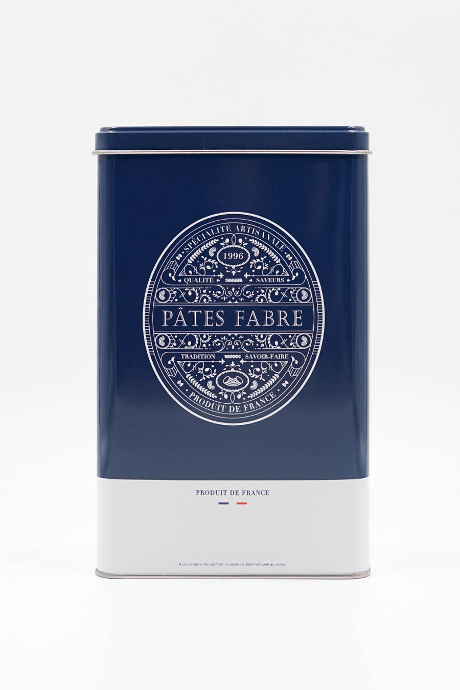 Boîte bleu roi