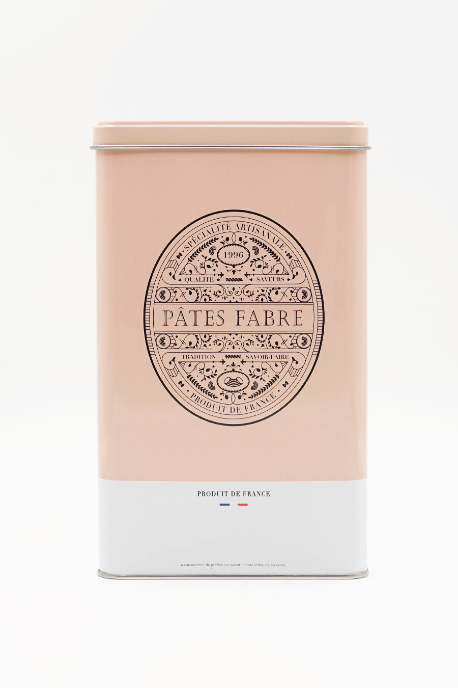 Boîte rose pastel