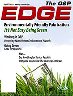 The O&P Edge—April 2009