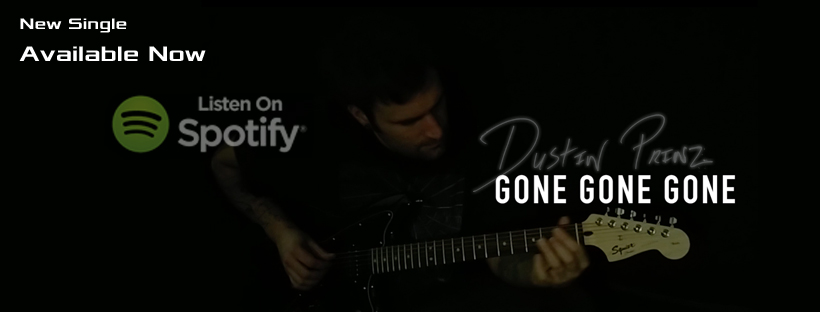 "November 23rd 2018 - Dustin releases his latest single ""Gone Gone Gone""."