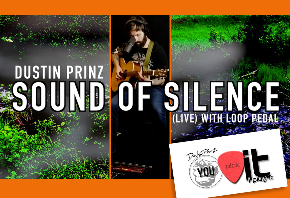 """FEB 27th 2019    Dustin releases his latest video """"Sound Of Silence"""" a fan pick from his new series """"You Pick It I Play It""""."""